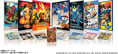Capcom Belt Action Collection Collectors Box Collector NINTENDO SWITCH REGION FREE JAPANESE VERSION [video game]