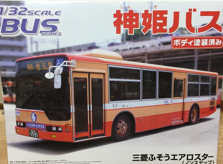 1 32 Bus No.12 Shinki (neu) Bus (Mitsubishi Fuso Aero Star)