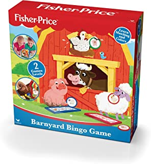 Fisher Price Barnyard Bingo Game