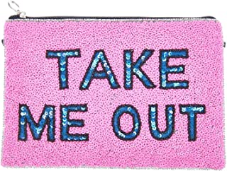 From St Xavier Women's Take Me Out Clutch, Pink/Blue, One Size