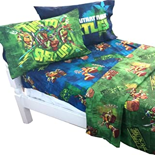 Teenage Mutant Ninja Turtles Shell Up 4pc Full Bed Sheet Set