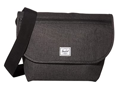 Herschel Supply Co. Grade Mid-Volume (Black Crosshatch) Messenger Bags