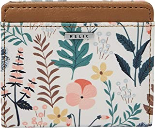 Relic by Fossil Becca RFID Bifold Floral Multi/White