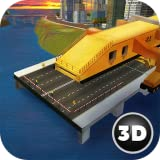 River Bridge Construction Machine Simulator 3D - Architect Design Game