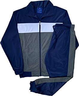 Royal Threads Canada Mens Monestone Tech Active Suit Track Jacket Trackpants Outfit