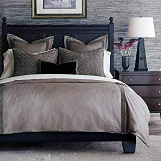 Eastern Accents Justineau Contemporary King Bed Set, Taupe