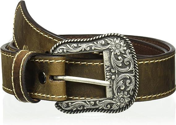 ARIAT Women's Basic Stitch Edged Belt