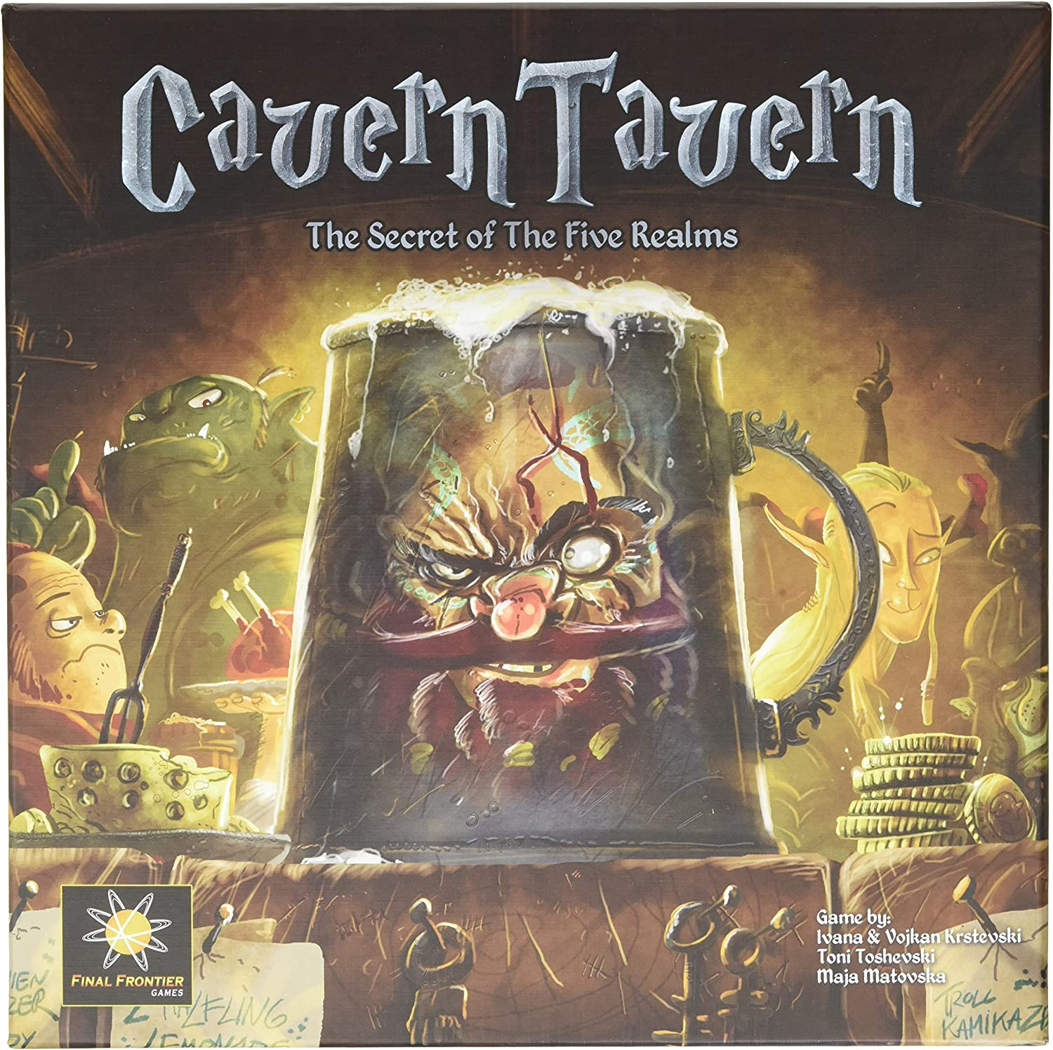 Cavern Tavern  The Secret of The Five Realms Game  Final Frontier Games