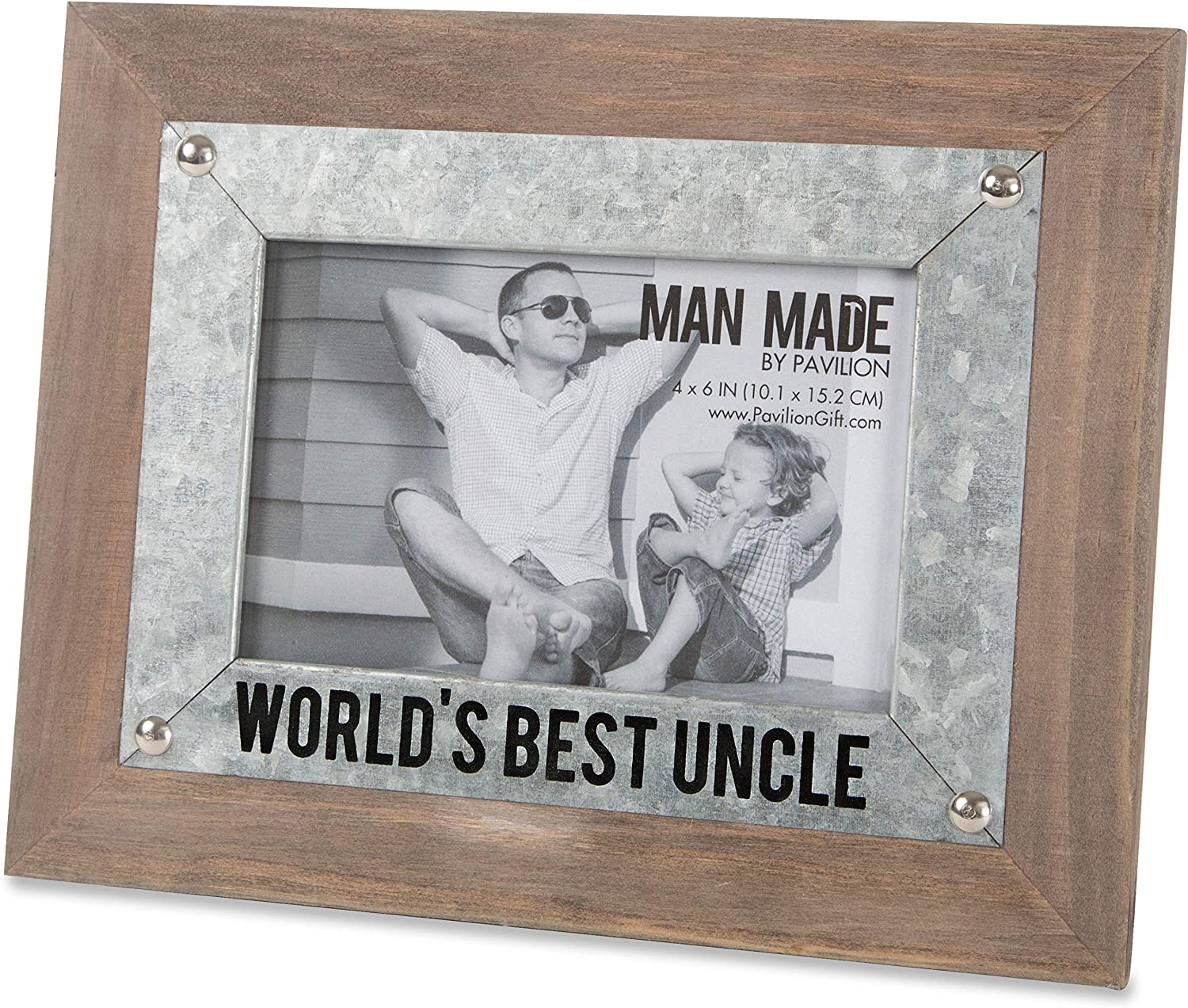 Very popular! Pavilion - World's Best Uncle Wood Metal 4x6 sold out Frame Picture and