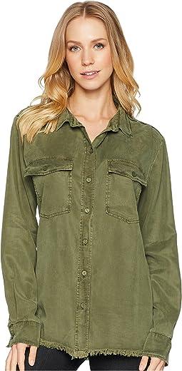 Gibson Raw Hem Shirt