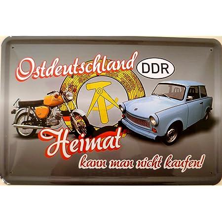 Tin Sign 20x30 Cm East Germany Home Buy Simson Trabant Ddr Küche Haushalt