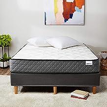 AmazonBasics Premium Hybrid Mattress - Medium Feel - Memory Foam - Motion Isolation Springs - 10-Inch, Queen