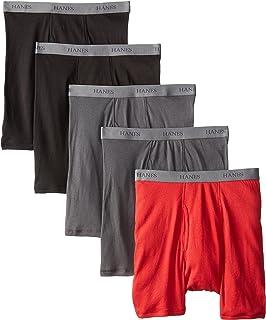 Hanes Ultimate Men's 5-Pack Fashion Boxer Briefs