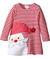 Mud Pie - Santa Stripe Dress (Infant)