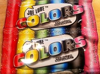 50 Colored Joe Lube Condoms, Ultra Thin for Extra Pleasure