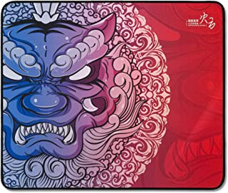 Esports Tiger LongTeng Gaming Mouse Pad - HuoYun Special Edition, Stitched Edges, Large (480 x 400 x 4mm)