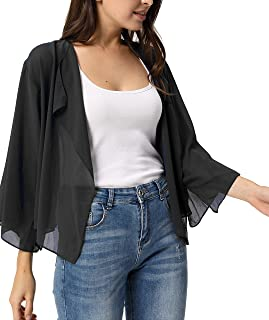 Best black kimono shrug Reviews