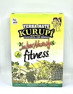 Yerba Mate Kurupi Fitness sabor Naranja