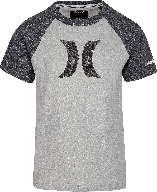 Hurley Boys' Icon Graphic T-Shirt: Clothing