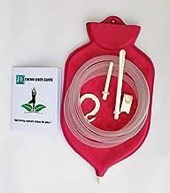 Medical Grade Enema Bag Kit for Colon Cleansing (2 Quart) With Complete Enema Instruction Booklet