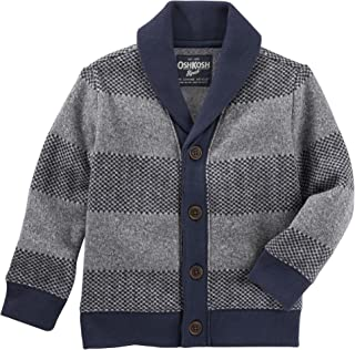Boys' Striped Cardigan