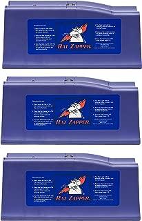 Rat Zapper RZC001-3A Trap, 3 Pack