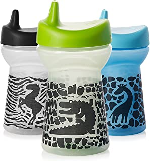 Evenflo Feeding Glow in The Dark, Blue/Green/Yellow (Colors may vary)