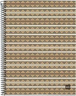 MIQUELRIUS - Cuaderno Notebook 100% Reciclado - 4 franjas de color, A5, 120 Hojas con Rayado Horizontal de 7mm, Papel 80 ...