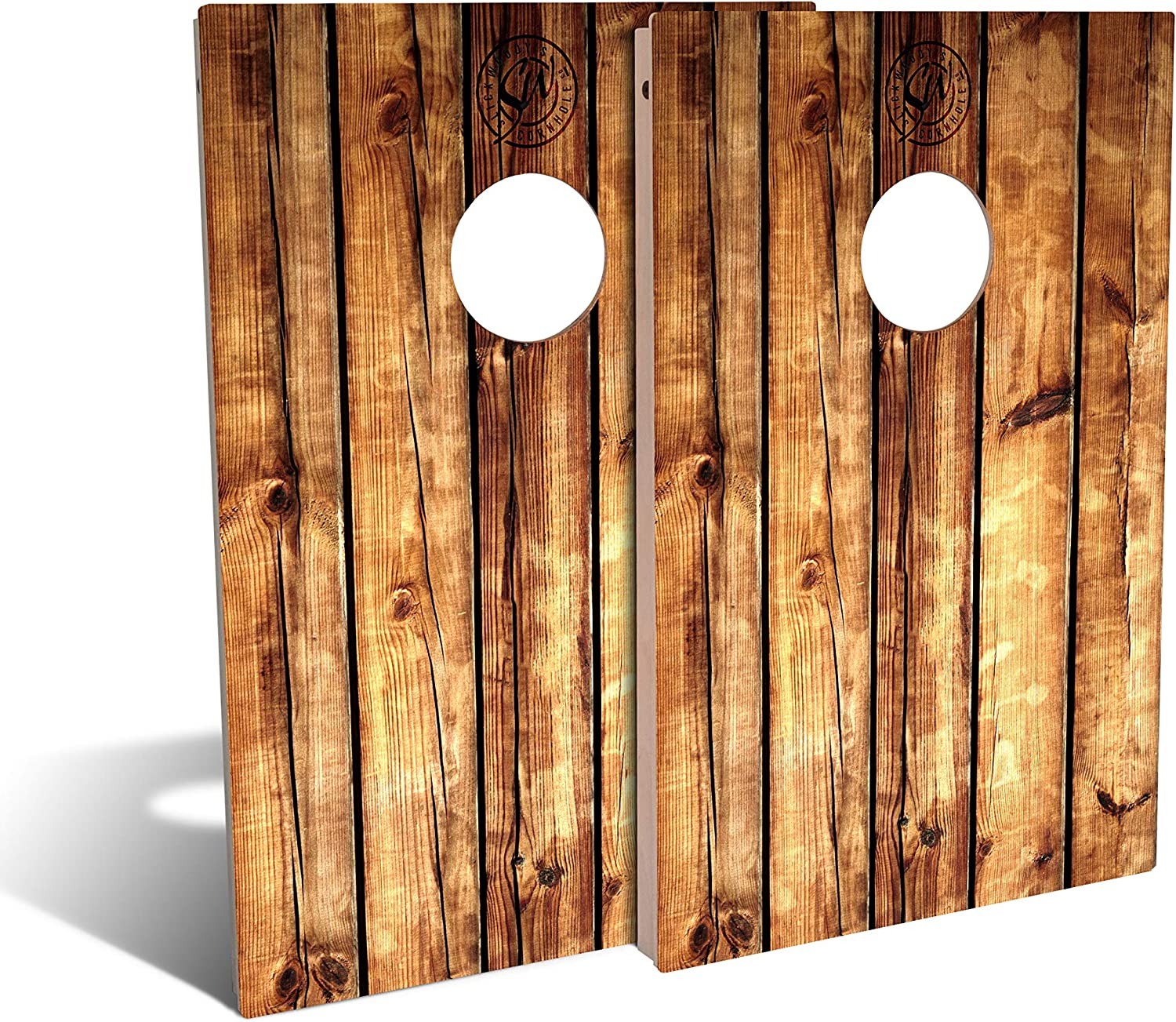 Slick Woody'S Pallet Superior Beauty products Wood Cornhole Bags Set with 8