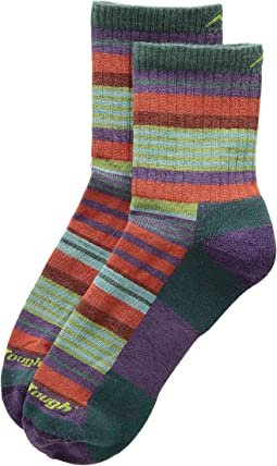 Sierra Stripe Micro Crew Light Cushion Socks (Toddler/Little Kid/Big Kid)