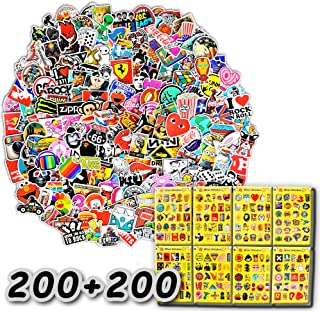 400-Pcs The Double-Satisfied Enhanced Version Of The Sticker, Doubled The Satisfaction. Lead Time Only 1-2 Days. Vinyl Stickers Are Suitable For Laptops, Cars, Motorcycles, Bicycles, Skateboards, And Luggage. (Double Reinforcement)