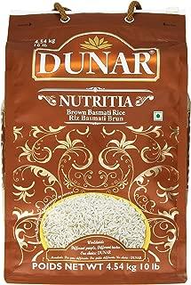 Dunar Nutritia Brown Basmati Rice, Himalayan, 10 Pound