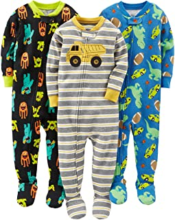 Simple Joys by Carter's pijama de algodón para bebés y ni