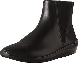 حذاء برقبة حتى الكاحل للنساء من ايكو انكيز، أسود