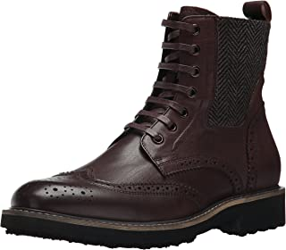 ZANZARA Farber Casual Lace-up Ankle Fashionable Boots for Men