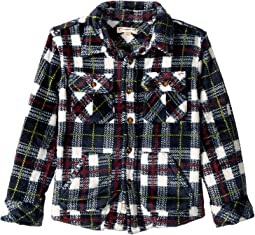 Extra Soft Flannel Snow Fleece Shirt (Toddler/Little Kids/Big Kids)