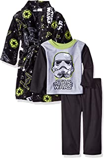 Star Wars Boys' 2-Piece Pajama Set with Robe
