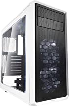 Fractal Design Focus G - Mid Tower Computer Case - ATX - High Airflow - 2X Fractal Design Silent LL Series 120mm White LED...