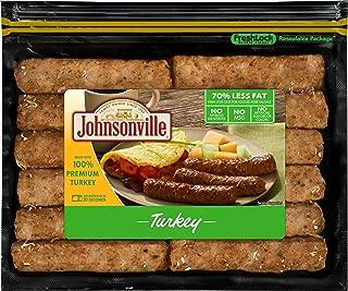 Johnsonville, Fully Cooked Breakfast Sausage Links, Turkey, 9.6 oz