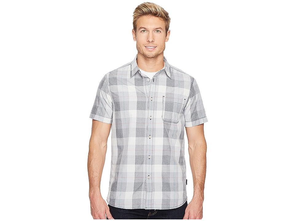 The North Face Short Sleeve Expedition Shirt (Urban Navy Plaid (Prior Season)) Men