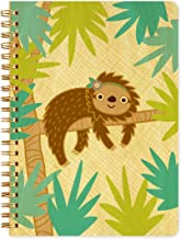 product image for Night Owl Paper Goods Sylvie Sloth Journal with Real Wood Covers