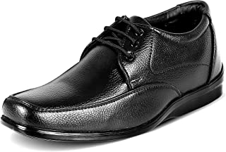 Action Synergy Men's Comfort Formal Shoes Black QUICK20