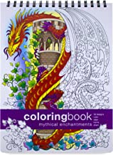 Action Publishing Coloring Book: Mythical Enchantments · Fantasy, Magic and Fairy Tale Designs for Stress Relief, Relaxation and Creativity · Large (8.6 x 11.75 inches)