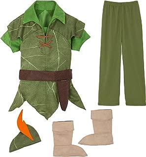 Peter Pan Costume for Kids Green