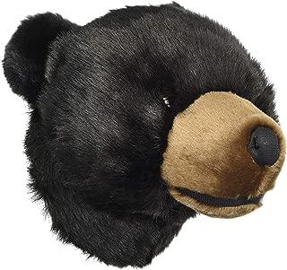 Carstens, Inc Wall Décor Friendly Faces Mini Bear Plush Animal Trophy Mount