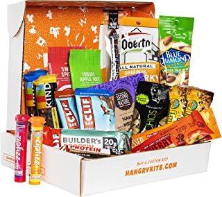 Hangry Kit Adventure Kit, Perfect Gift Pack, Great for Biking, Hiking, Camping, Sports, Motorcycle Rides, and College Kids, Includes a Variety of Meat, Nuts, and Protein, 100% Guaranteed