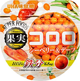 味覚糖 果実コロロ シーベリー&デーツ 52g×6袋
