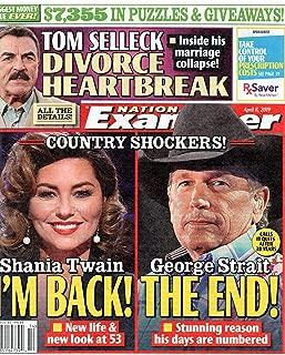 shania twain magazine
