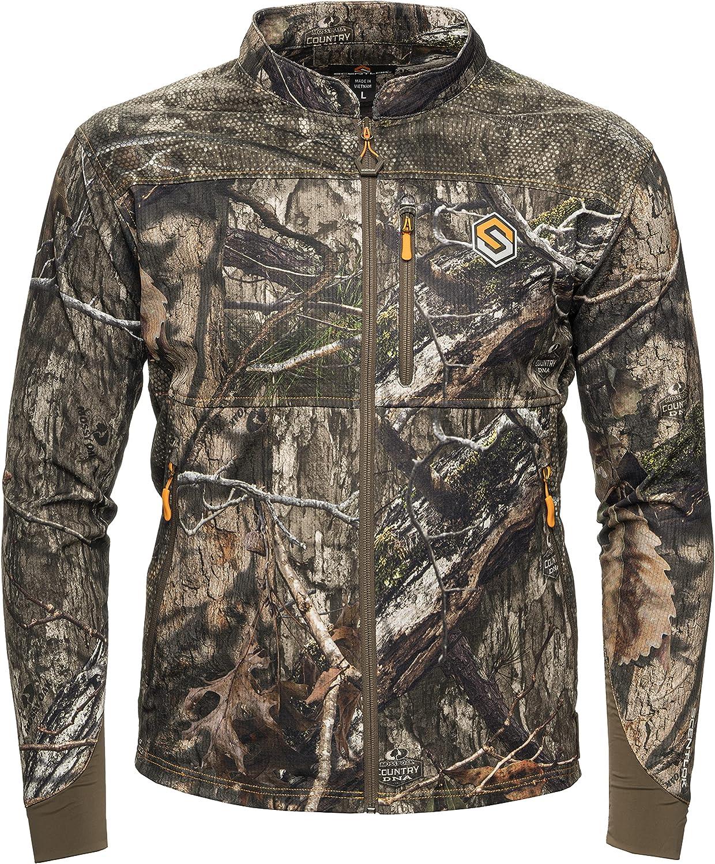 ScentLok Camo Hunting Jacket Many popular brands for Men Aero Finally resale start Li - Savanna Crosshair