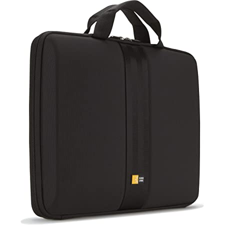 "Case Logic 13.3"" Molded Laptop Sleeve (QNS-113-BLACK)"